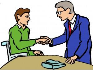 handshake wheelchair