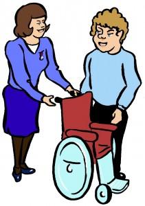 wheelchair demo